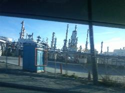 Refinery in Three Rivers, Texas.