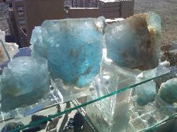 Awesome big blue Topaz from Brazil.