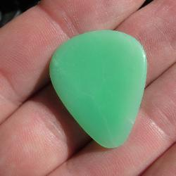chrysoprase stone guitar pick