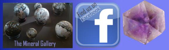 Find  The Mineral Gallery on Facebook